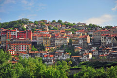 Traditional old houses of Veliko Tarnovo Royalty Free Stock Images