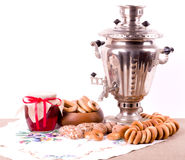 Traditional old Russian tea Stock Image