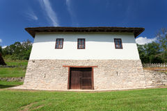 Traditional old serbian rural house Royalty Free Stock Photo