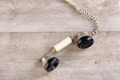 Traditional old telephone receiver Royalty Free Stock Photography