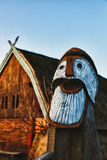 Traditional old Viking Age house Royalty Free Stock Photo