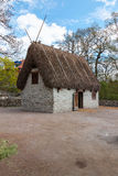Traditional old Viking Age house Stock Image