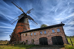 Traditional old  windmill in Germany Royalty Free Stock Images