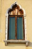 Traditional old window, Venice, Italy Stock Photo