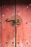 Chinese old wooden door Stock Image
