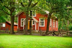 Old wooden house Stock Photo