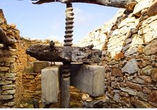Traditional olive oil mill royalty free stock photography