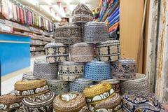 Traditional Omani Kuma hats Royalty Free Stock Photography