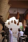 Traditional Omani shop Royalty Free Stock Images