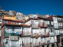 Traditional Oporto houses. Royalty Free Stock Photo