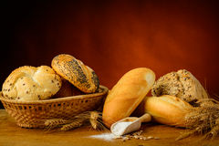 Traditional organic bread Royalty Free Stock Image