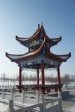 Chinese architecture pavilion Royalty Free Stock Photo