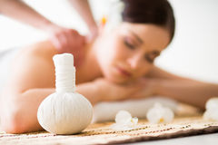 Traditional oriental aroma therapy and beauty treatment Stock Images