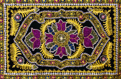 Traditional oriental carpet Royalty Free Stock Images