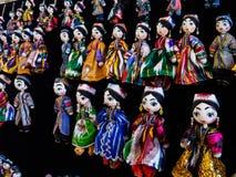 Traditional oriental doll in Bukhara Bazaar, Uzbekistan Stock Photography