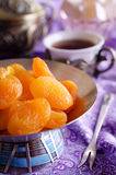 Traditional Oriental feast Royalty Free Stock Image