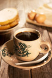 Traditional oriental Hainan coffee and breakfast Stock Photos