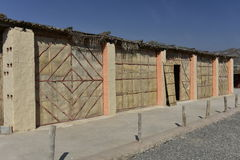 Traditional Oriental Huts Royalty Free Stock Images