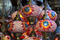 Traditional Oriental Lights Stock Image