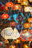 Traditional oriental lights Royalty Free Stock Photography