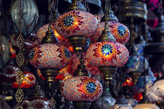 Traditional oriental lights Stock Photo