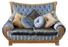 Traditional oriental sofa Stock Images