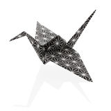 Traditional Origami Bird Stock Photography