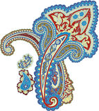 Traditional ornamental background. Paisley design Stock Photo