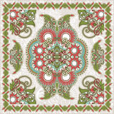 Traditional Ornamental Floral Paisley Bandana Royalty Free Stock Photography