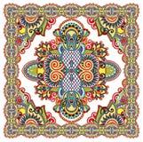 Traditional Ornamental Floral Paisley Bandana Royalty Free Stock Photography