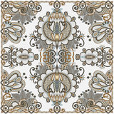Traditional Ornamental Floral Paisley Bandana Stock Photography