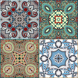 Traditional ornamental floral paisley bandanna Royalty Free Stock Photos