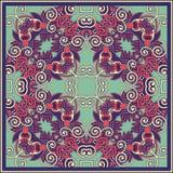 Traditional ornamental floral paisley bandanna Stock Photography