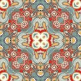 Traditional ornamental floral paisley bandanna Stock Image
