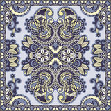 Traditional ornamental floral paisley bandanna Stock Photography