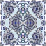 Traditional ornamental floral paisley bandanna Royalty Free Stock Photos