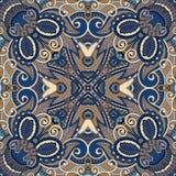 Traditional ornamental floral paisley bandanna. Stock Image
