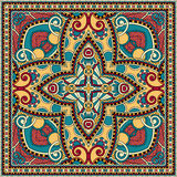 Traditional ornamental floral paisley bandanna. Stock Photography