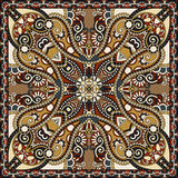 Traditional ornamental floral paisley bandanna Stock Photo