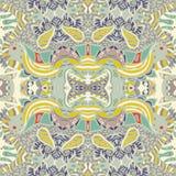 Traditional ornamental paisley bandanna. Stock Photos