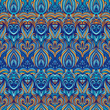 Traditional ornamental  pattern seamless Stock Image