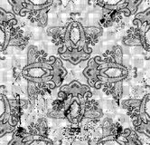 Traditional ornamental seamless background Stock Images