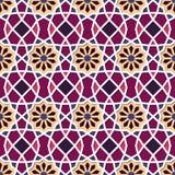 Traditional Ornamental Seamless Islamic Pattern. Vector Illustration Royalty Free Stock Photo
