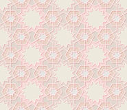 Traditional Ornamental Seamless Islamic Pattern Stock Image