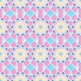 Traditional Ornamental Seamless Islamic Pattern Stock Photography