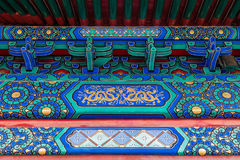 Traditional ornaments of the buildings in the Forbidden City or Gugong, Beijing, China Stock Photos