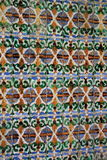 Traditional ornate tiles Stock Images