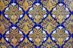 Traditional ornate tiles Royalty Free Stock Images