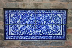Traditional ornate tiles Royalty Free Stock Photography