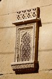 Traditional ornate window of old haveli,Jaisalmer,India Royalty Free Stock Photos